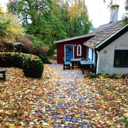 """Games Krukmakeriet """"the Old Pottery"""" in autumn."""
